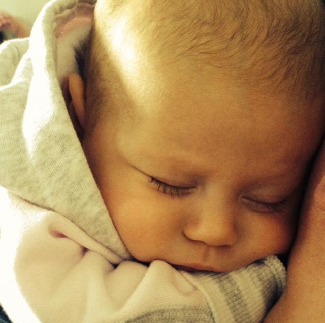 Schlafender Säugling